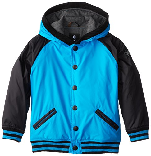 Billabong Little Boys' Kids Baldwin Jacket, Vivid Blue, 6/Large ()