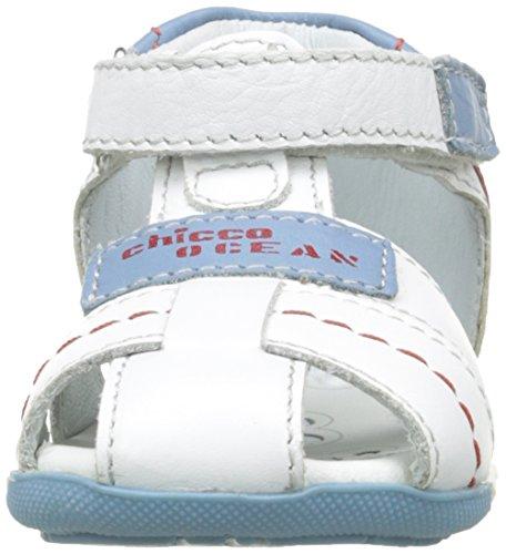 Gedin Sandale Weiß Blanc Baby Chicco 300 Sandalen Jungen wBq7v