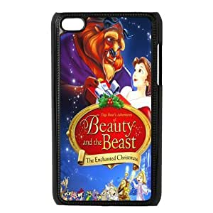 Custom Beauty And Beast Back Cover Case for ipod Touch 4 JNIPOD4-611 Kimberly Kurzendoerfer