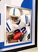 a8bff5eb8 Premium Framed Edgerrin James Autographed Signed Indianapolis Colts Jersey  - JSA COA. Loading Images.