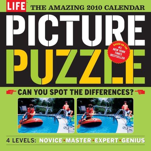 The Amazing Life Picture Puzzle Calendar 2010