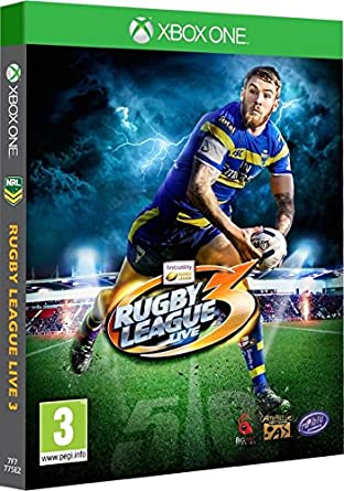 Amazon Com Rugby League Live 3 Xbox One Video Game Video Games