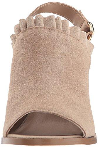 Sbicca Women's Frilly Heeled Sandal Taupe TvvWxGdh