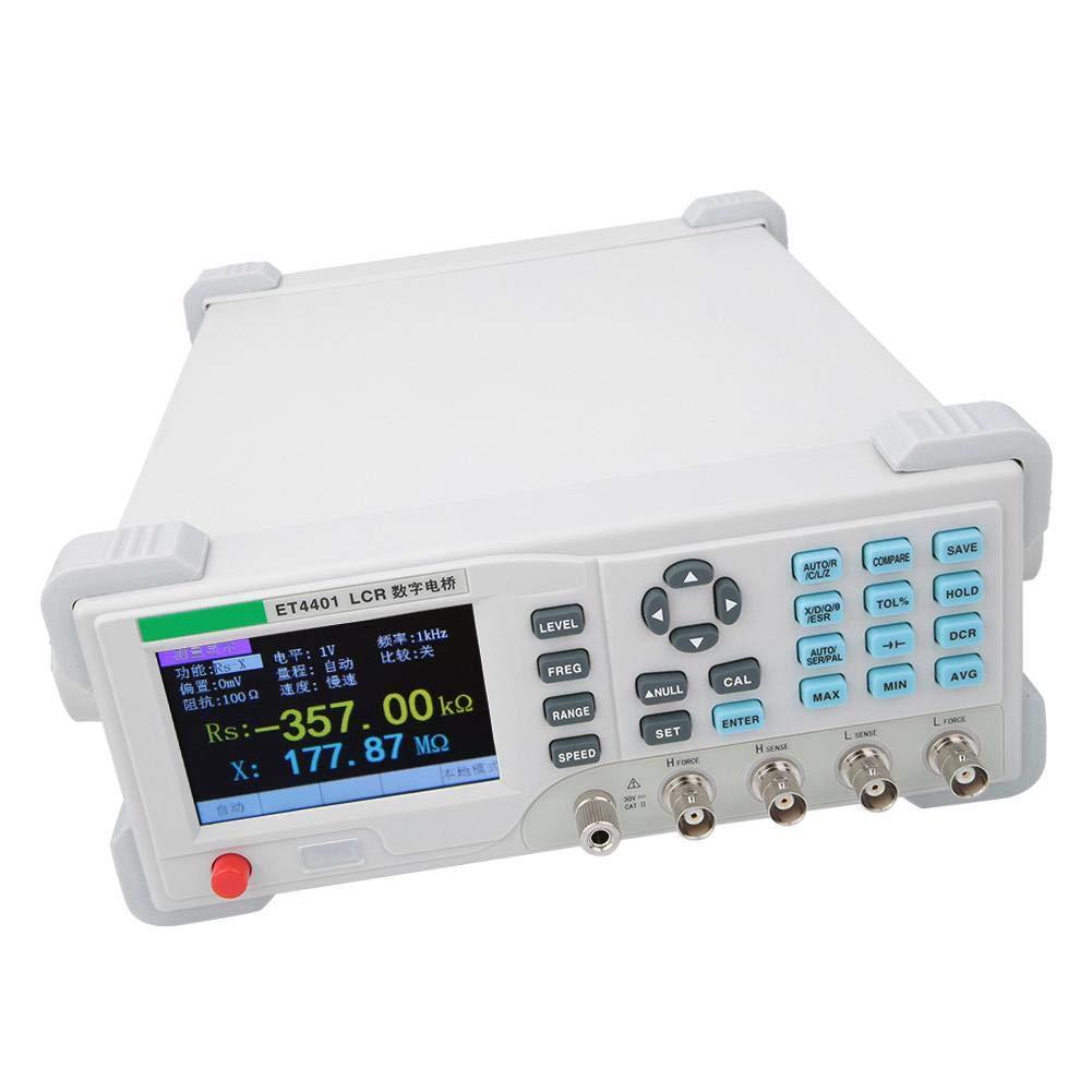 Digital Electrical Bridge Meter White Desktop Digital Bridge Meter Capacitor Resistance Impedance Inductance Meter Tester