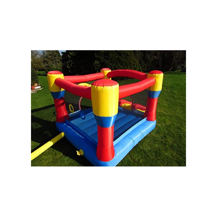 51XA004bBRL Con una gran zona cerrada y un gran tobogán inflable Marca premium de castillos inflables para niños, con doble costura de alta calidad La instalación es rápida, en unos 3 minutos