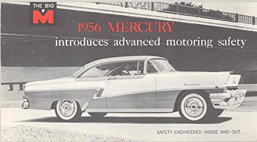 1956 Mercury Montclair Brochure by MERCURY