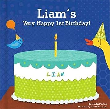 Amazon Com Baby S 1st Birthday For Boys Happy Birthday Baby
