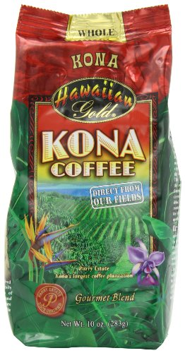 Hawaiian Gold Kona Medium Roast Gourmet Blend