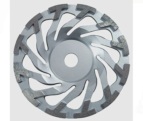 GOWE 7'' T segment Cyclone diamond grinding CUP wheel ( 5 pcs per package) | 180mm Concrete grinding plate| 12 (7' Diamond Grinding Wheel)