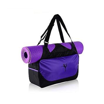 Prenine Bolso Impermeable de la Estera de la Yoga, Mochila ...