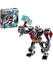 LEGO 76169 Super Heroes Thor i robotrustning, Byggsats med Marvel Figurer, Thor, Byggklossar