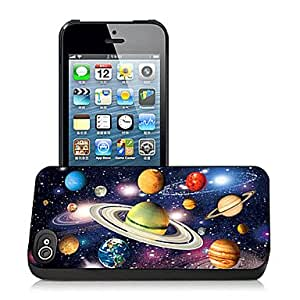 Solar System Pattern 3D Effect Case for iPhone5