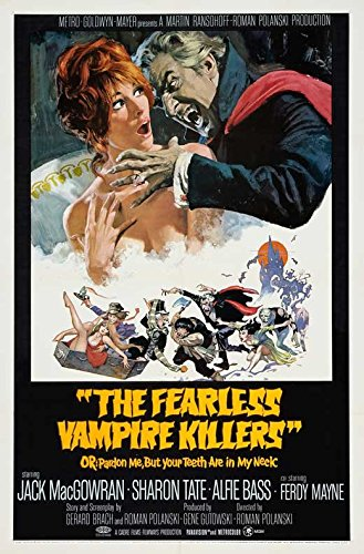 The Heroic Vampire Killers Poster Movie B 27 x 40 Inches - 69cm x 102cm Jack MacGowran Roman Polanski Alfie Bass Jessie Robins Sharon Tate Ferdy Mayne Iain Quarrier