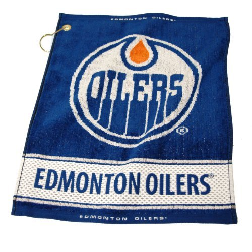 Edmonton oilers golf towel