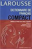 Dictionnaire de français compact