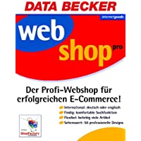 Webshop Pro, CD-ROM Der Profi-Webshop für erfolgreichen E-Commerce. Für Windows 95C/98(SE)/ME/NT4(SP6)/2000