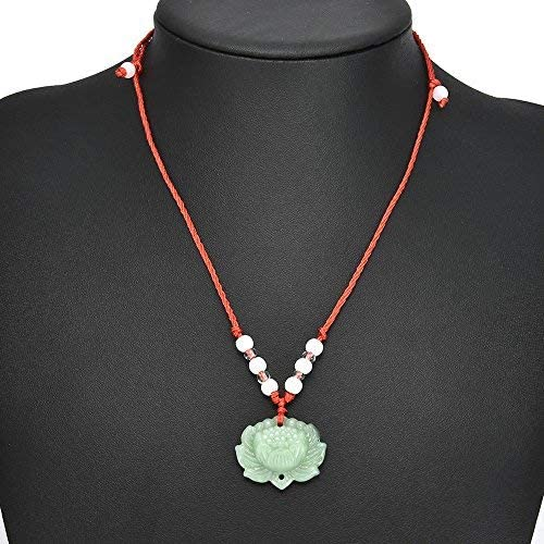 Fahion natural green hand carved leaf lucky pendant hanging decorate women men