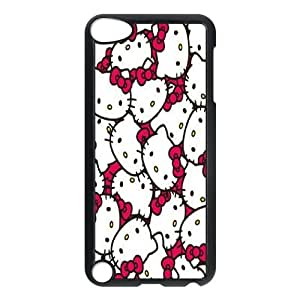 T-TGL(RQ) Custom Brand New Phone Case for Ipod Touch 5 Personalized Hello Kitty case