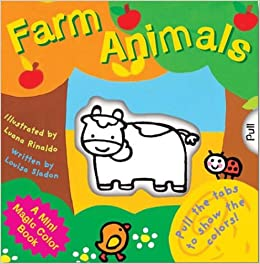 A Mini Magic Color Book: Farm Animals (Magic Color Books): Louisa ...