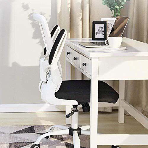 Studentresstol, lyft skrivstol svängbar stol hem dator stol ryggstöd kontorsstol 64 x 64 x 97 cm knästol