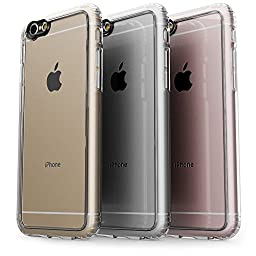 iPhone 6 Plus Case, 6s Plus SaharaCase Protective Kit (Clear) + [ZeroDamage Tempered Glass Screen Protector] Rugged Slim Fit Cover [Shock-Absorbing Reinforced Bumper] Scratch-Resistant Hard Back