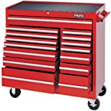 Stanley Proto J444142-15RD 440SS 41-Inch Workstation, 15 Drawer, Red