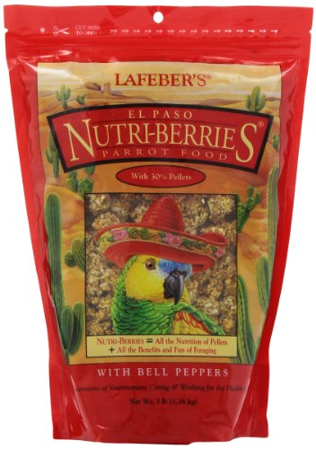 Lafeber Company Gourmet El Paso Nutri-Berries for Parrots, 3-Pound Berry Bell