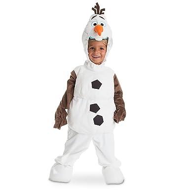 disney store deluxe frozen olaf plush halloween costume for kids all sizes xxs 2 or - Kids Disney Halloween Costumes
