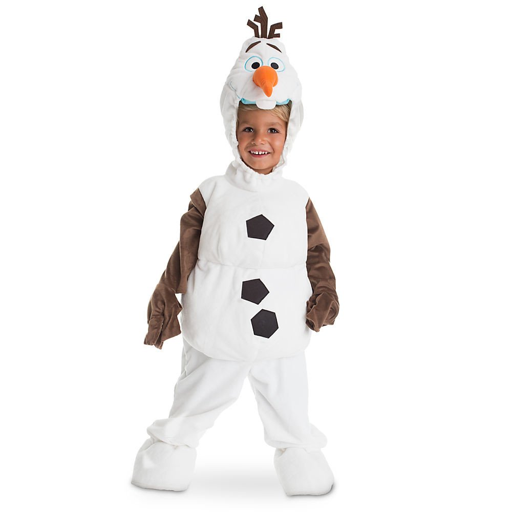 Disney Store Deluxe Frozen Olaf Plush Halloween Costume for Kids All Sizes (XXS 2 or 2T)