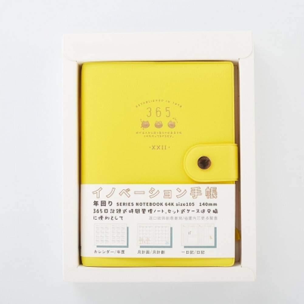 BJBCH Papelería Japonesa Cuaderno De Cuero 365 Manual Del ...
