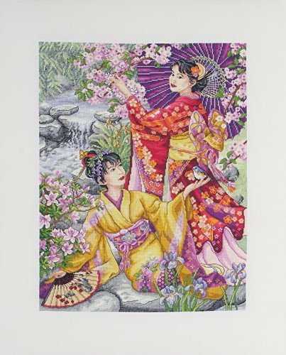 Anchor 1-Piece Maia Cross Stitch Geishas, Multi-Colour by AN