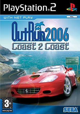 OutRun 2006 Coast 2 PS2 TO PS4