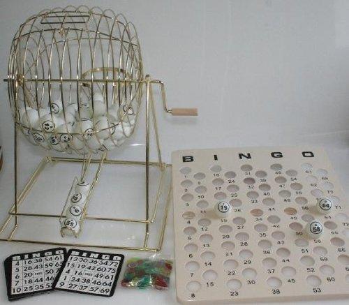 HOT Großes Bingo Spiel, 50 cm, komplett mit Zubehör