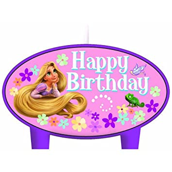 Disney Tangled Conjunto De 4 velas del cumpleaños: Amazon.es ...