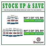 High Potency Astaxanthin 12 mg Natural Antioxidant 60 Softgels Discount