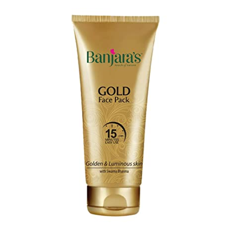 f0a343eef Banjara's 15 Minutes Gold Face Pack, 50g: Amazon.in: Beauty