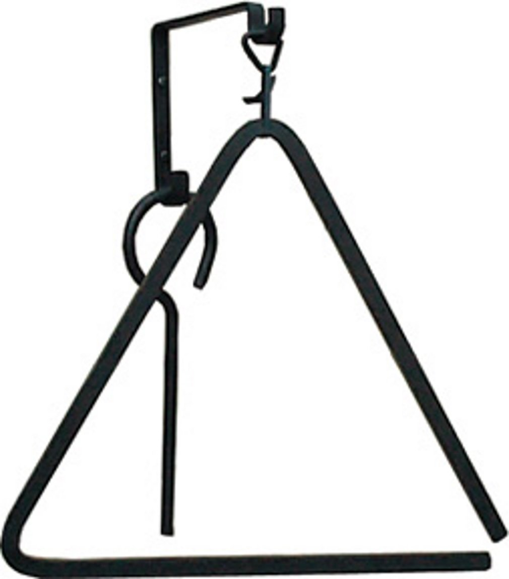 15 Inch Triangle Chime Village Wrought Iron TB-51-S TC-L