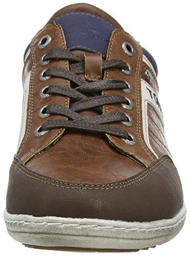 Tom Tailor Tom Tailor Herrenschuhe - Zapatos de cordones derby Hombre Marrón - marrón (Cognac)