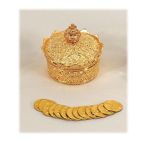 Decorativo juego de Arras corona caja de boda 2 œ