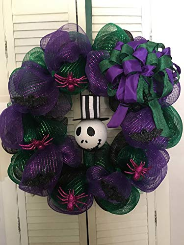 Jack Skellington Deco Mesh