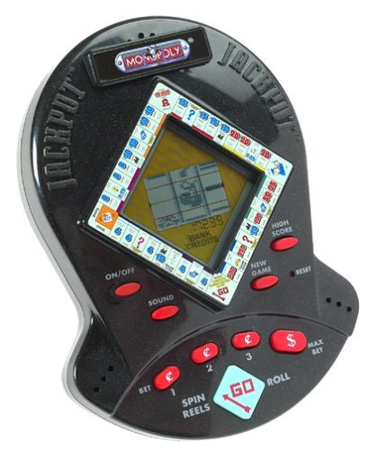 Monopoly Jackpot Hand Held Electronic Game by Hasbro