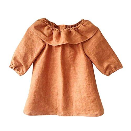 linen baby dress - 7
