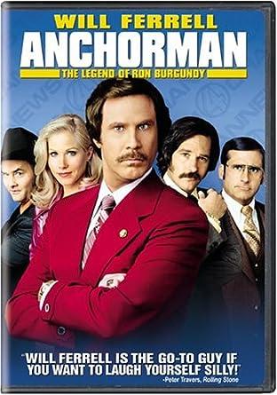 Anchorman: The Legend of Ron Burgundy Reino Unido DVD: Amazon ...