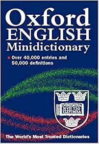 0198602553 - Oxford English Minidictionary