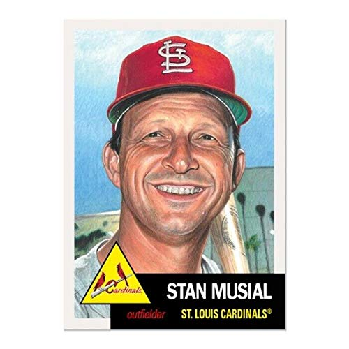 Stan Musial St Louis Cardinals - 2019 Topps The Living Set Baseball #154 Stan Musial St. Louis Cardinals Official MLB ONLINE EXCLUSIVE Trading Card Sold Out at Topps