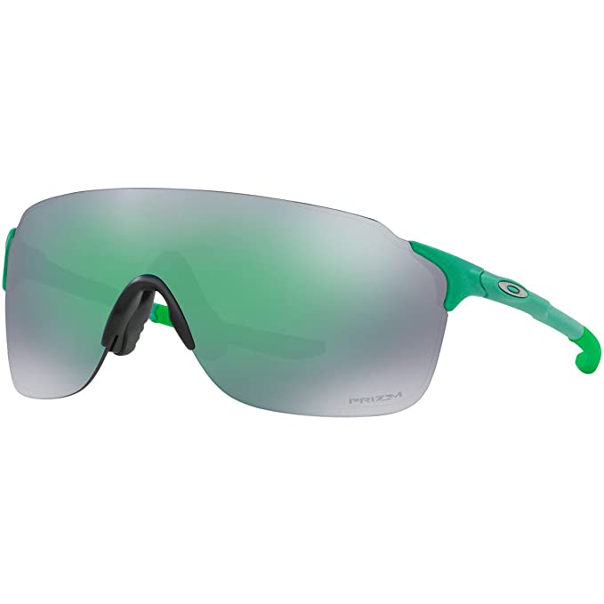 ef294fa2d4ed24 Oakley Men s Evzero Stride Non-Polarized Iridium Rectangular Sunglasses  GAMMA GREEN ...