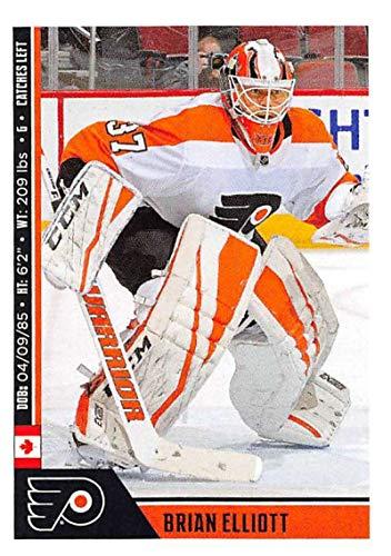 a775667a0ea Amazon.com: 2018-19 Panini NHL Stickers Collection #191 Brian Elliott  Philadelphia Flyers Official Hockey Sticker (smaller than a regular card):  ...