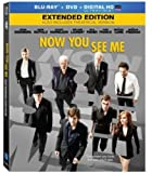 Now You See Me [Blu-ray + DVD + Digital]