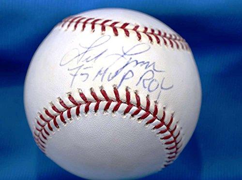 FRED LYNN 75 MVP ROY MLB COA Hand Signed Major League Autograph Baseball