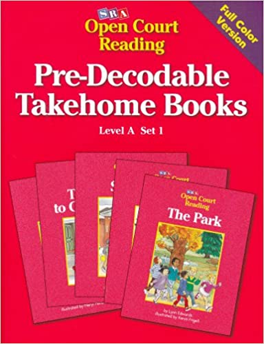 Pre-Decodable Takehome Books: Level A, Set 1 (Open Court Reading ...